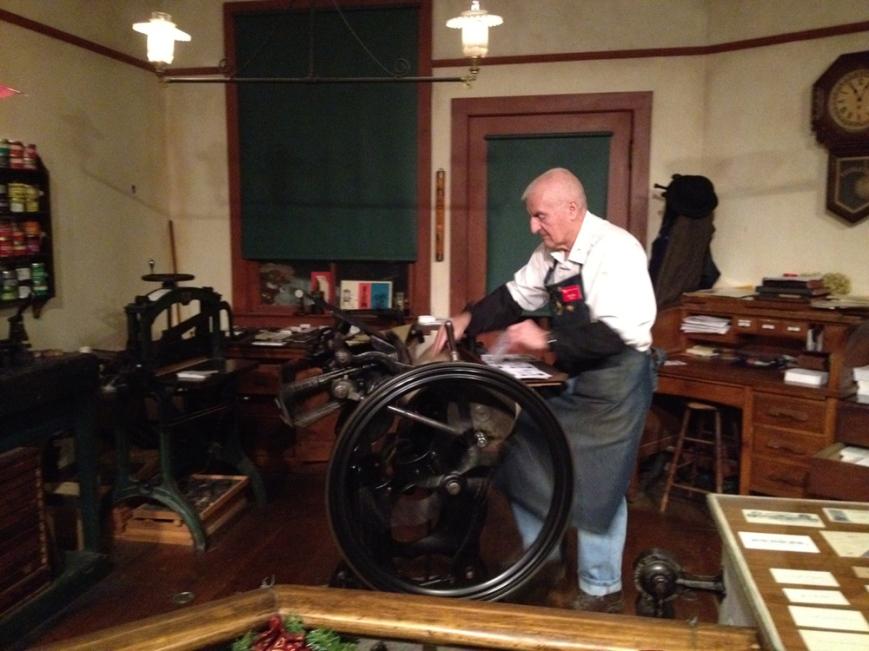 grand rapids museum printing press