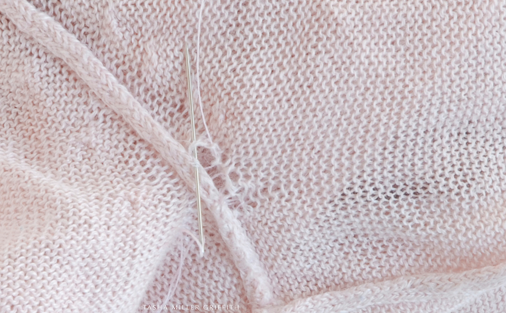 Knitting Fix Loose Stitches : How to Fix a Small Hole in a Knit   Glorious Mending Stale Bread into Frenc...