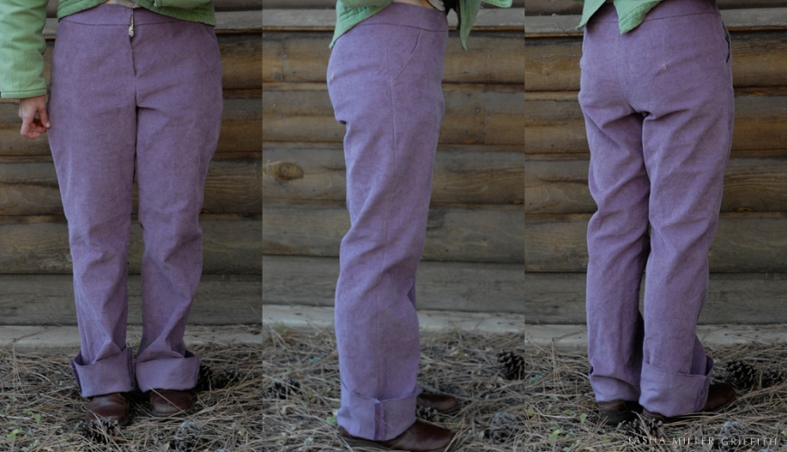 purple cords fitting
