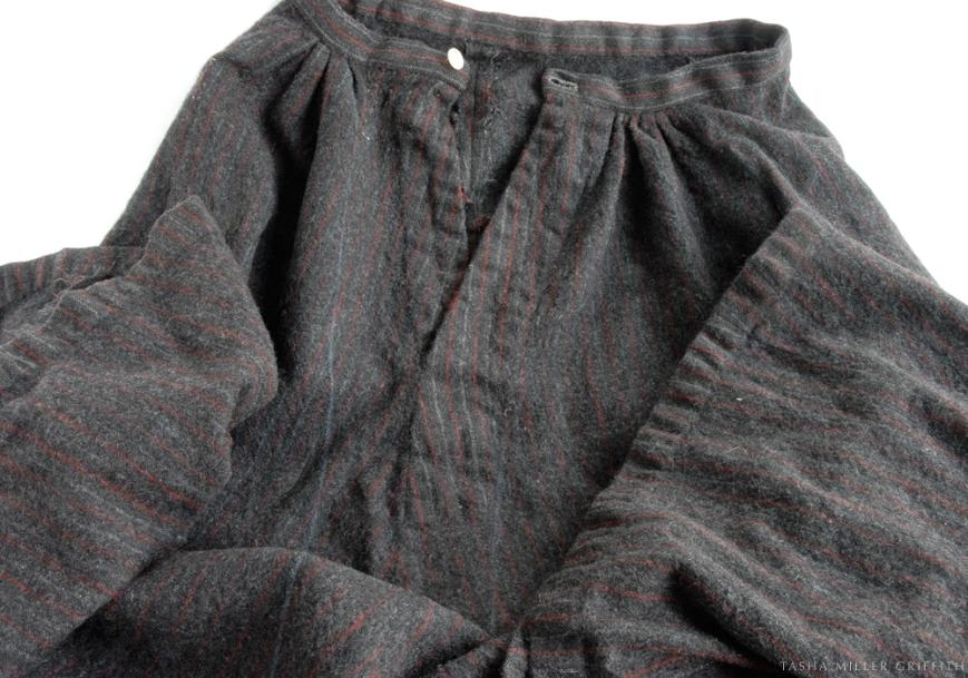 pinstripe skirt remodel 1