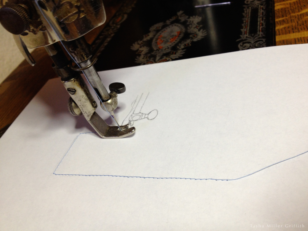 HSM paper sewing