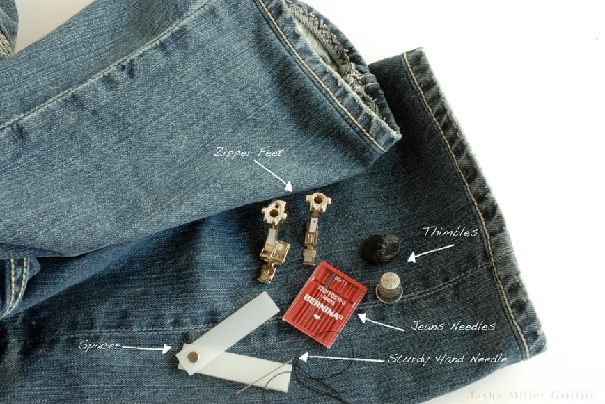 Jeans hem equipment