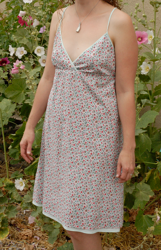 hot weather dress hollyhocks 3
