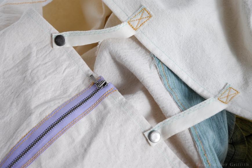 garment bag snaps