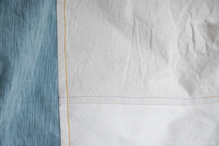garment bag stitching