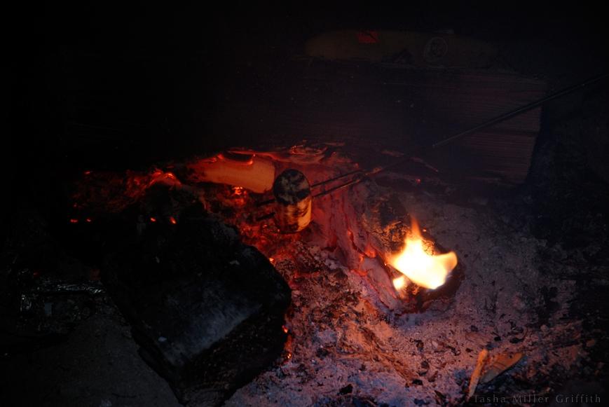 campfire bananas 3