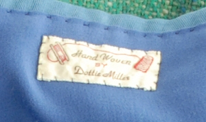 handwoven by Dottie Miller