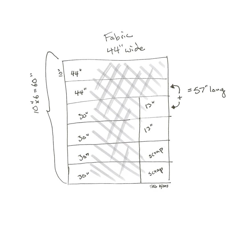 crib rail protector fabric