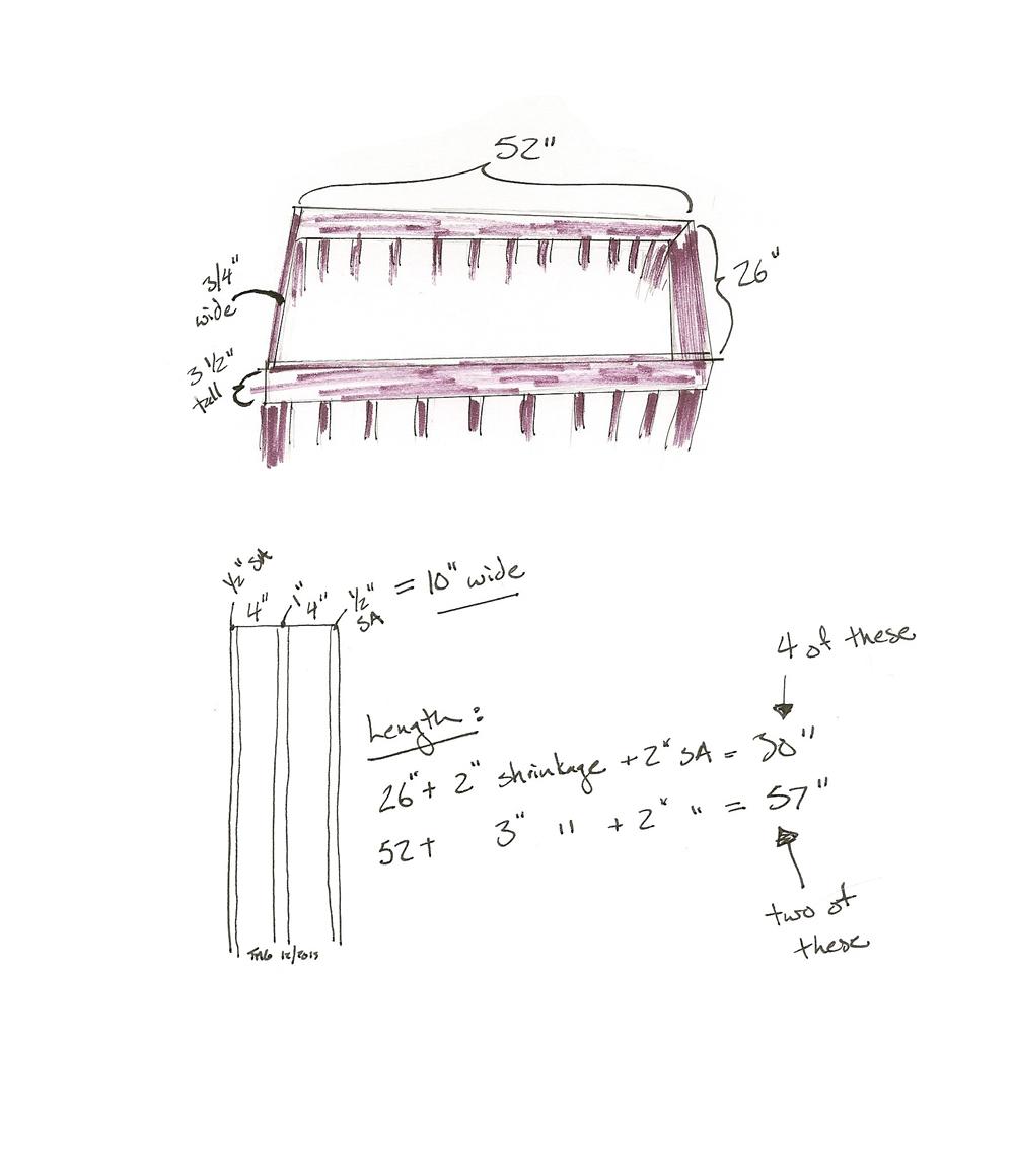 crib rail protector math