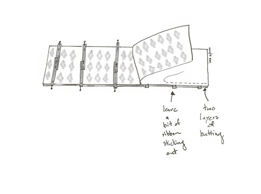 crib rail protector sandwich