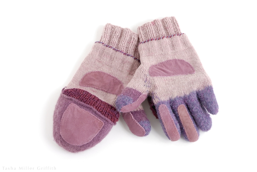 purple mittens finished 2