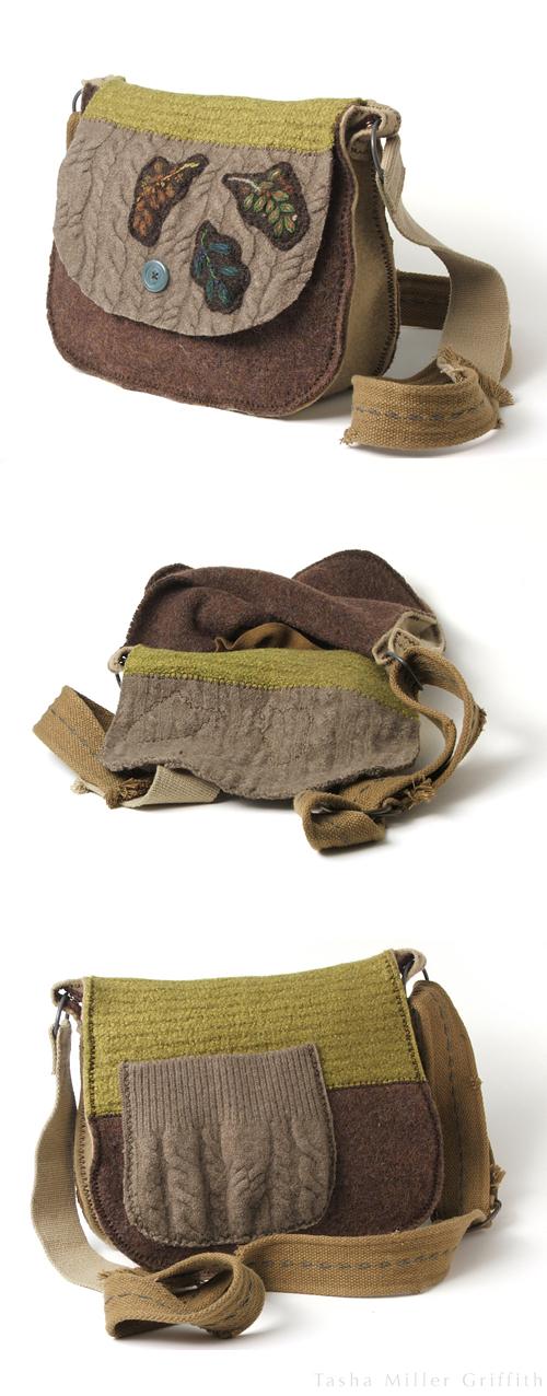 sewn felt bag example