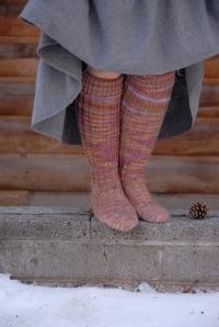 sweet tomato knee socks front
