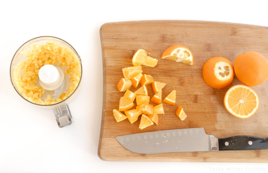 thick marmalade chopping