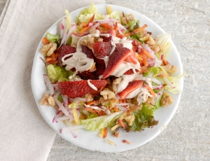 spring strawberry salad 2