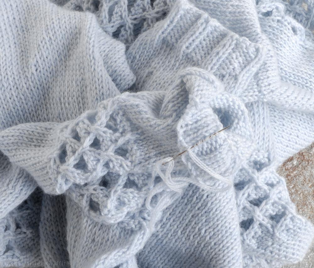 finishing knitting 6