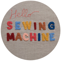 Hello Sewing Machine