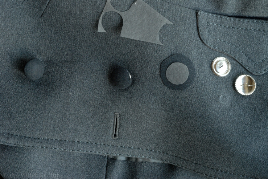 cover buttons coat