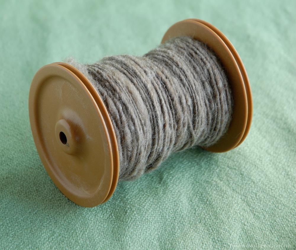 first handspun yarn 1