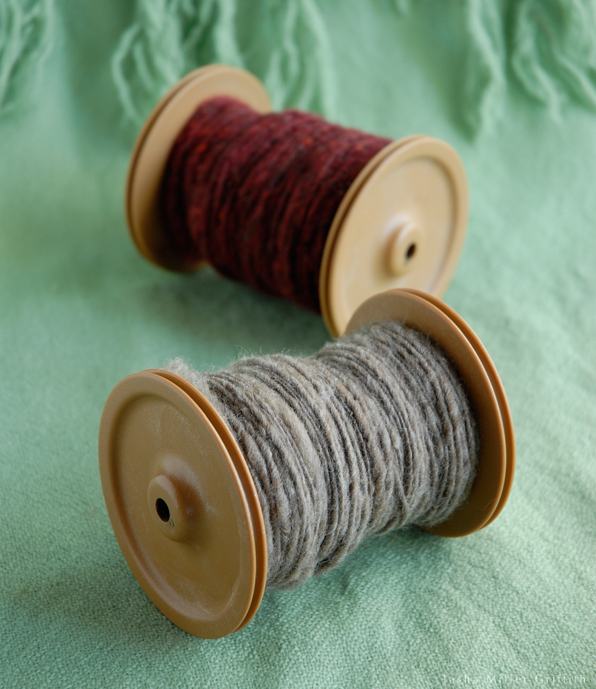 first handspun yarn 2