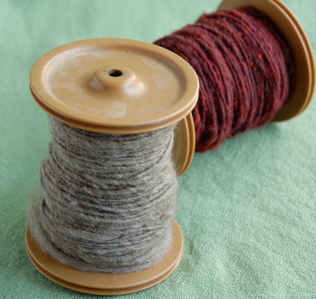first handspun yarn 3