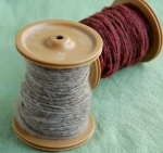 first handspun yarn 3
