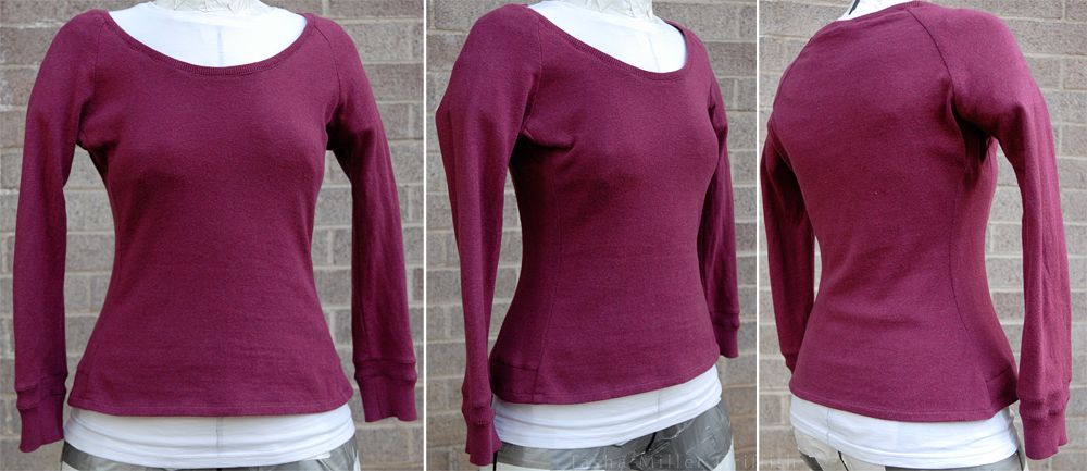 berry winter top on form