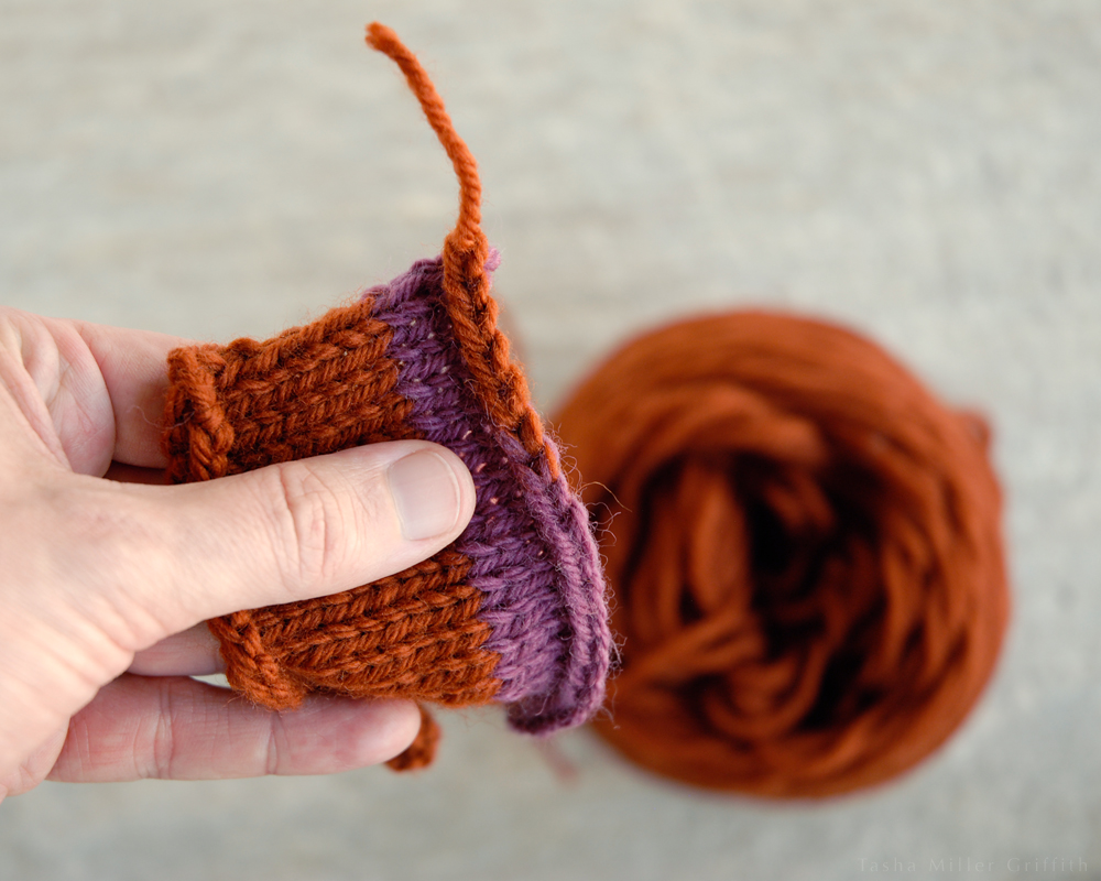 end of the yarn 10
