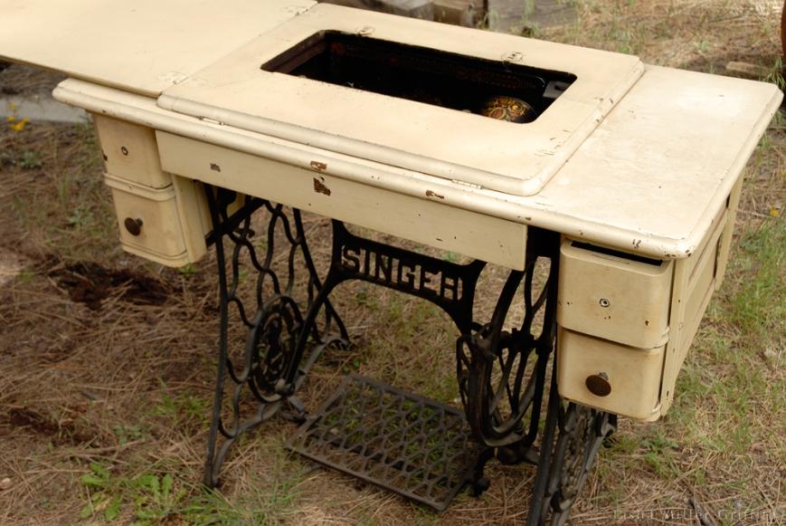 treadle cabinet restoration 2