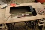 treadle cabinet restoration 8