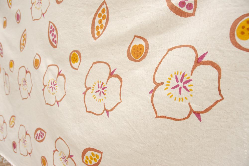 natural dye print fabric 3
