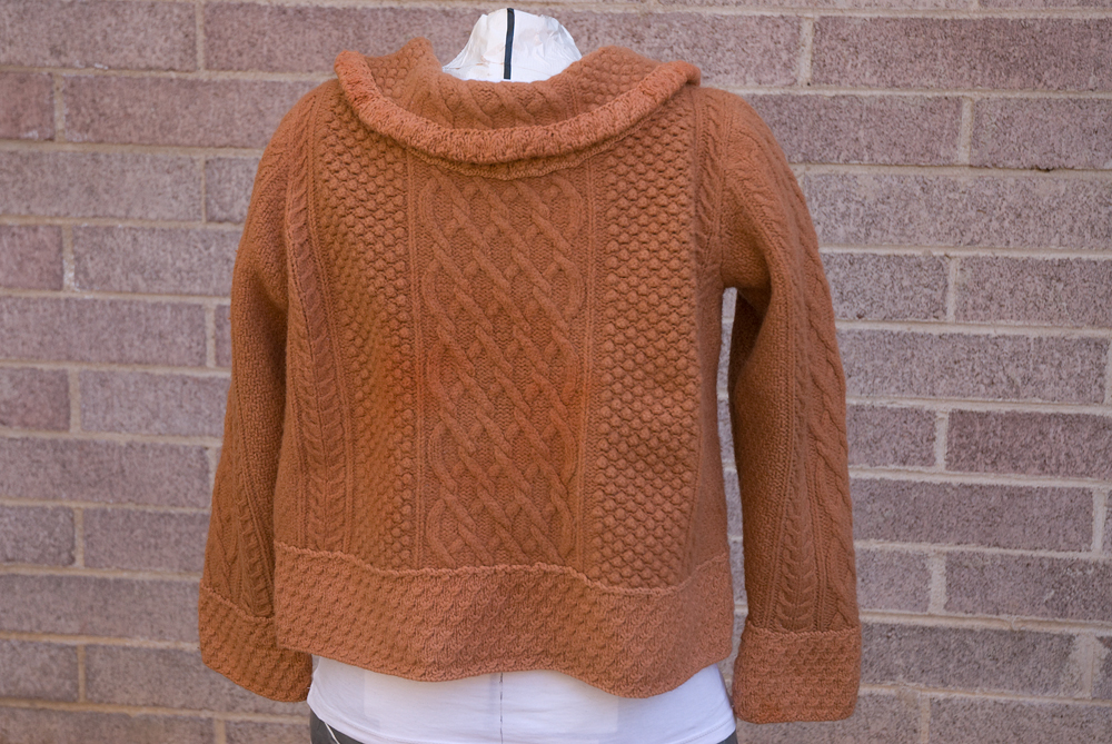 failed refashioned sweater 3
