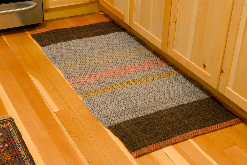 sw rug on floor