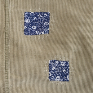 corduroy skirt patches