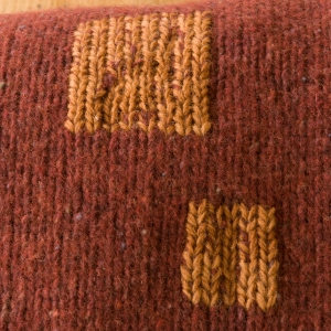 knit stitch mending squares